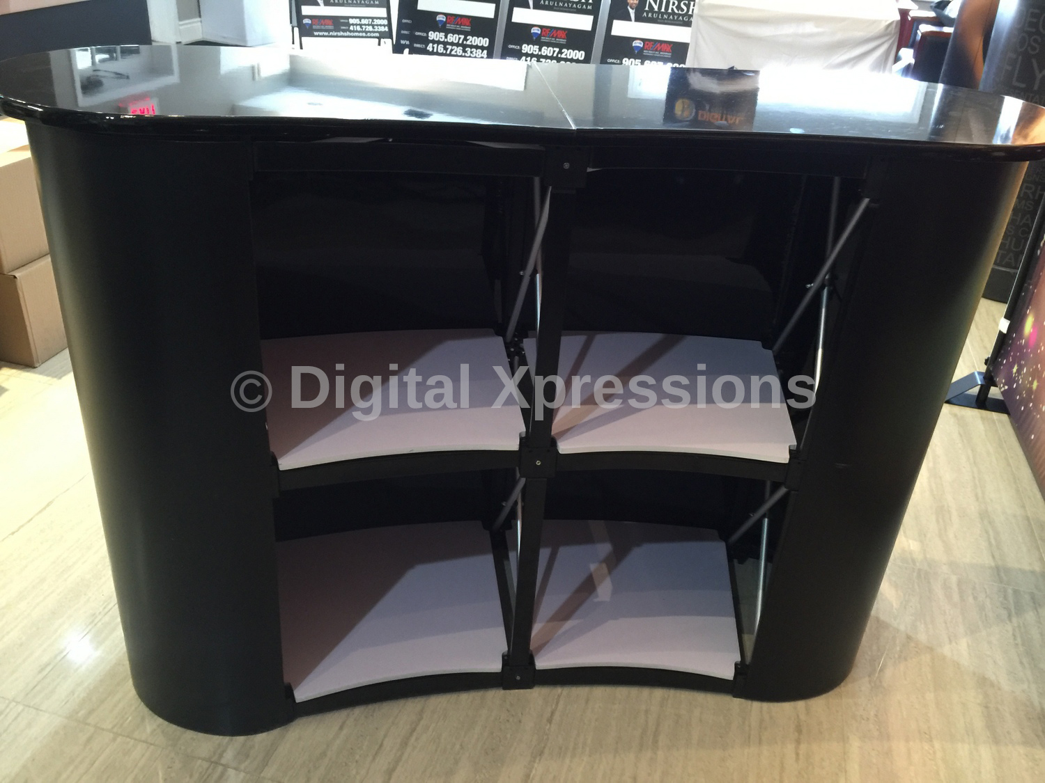 Pop Up Counter Table | Portable Counter Table | Trade Show ...